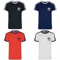 Adidas Originals Californie T-Shirt HOMME Blanches Noires Marine Rouge