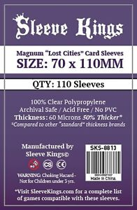 Sleeve Kings Magnum Lost Cities size 70x110mm
