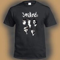 The Yardbirds English Rock Band Legend Logo Men's Black T-Shirt Size S-3XL