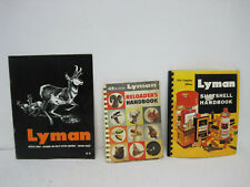 Vintage 1960's Lot of Lyman Reloaders Handbooks & Magazine FAST SHIPPING!!