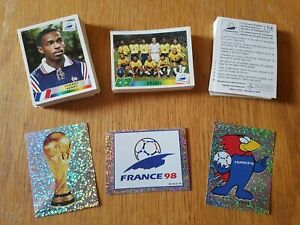 Panini France 98 Stickers - World Cup 1998 - #1 to #191 - Pick From List