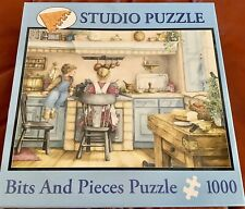 """Bits And Pieces 1000 Piece Studio Puzzle Children In The Kitchen 20"""" X 27"""""""