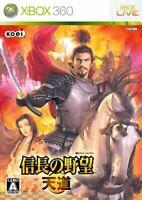 USED Xbox 360 Nobunaga's Ambition - Tendou 33247 JAPAN IMPORT