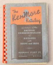 Vintage KENMORE KATALOG Stamps of British Commonwealth with Egypt & Iraq CYPRUS