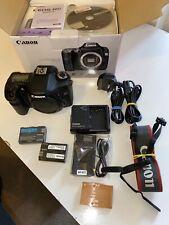 Canon EOS 40D 10.1MP Digital SLR Camera - (w/ EF-S 18-55mm IS II Lens) 8K SHOTS