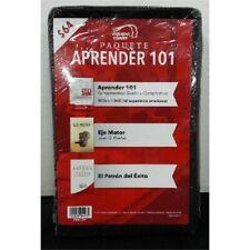 Equiovision Paquete Aprender 101 PDA101 Textbook/CD/DVD Set 2019 NEW
