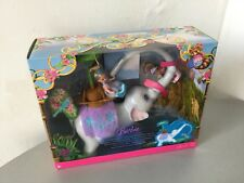 2007#Barbie  as The Island Princess Swing & Twirl Tika Kelly Large Playset#NIB