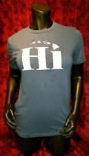 XL HI T-shirt Hawaii State Humor Punk Rock Retro Surf Skate Surfing Funny