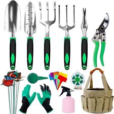 Hausse Garden Tool Set 42 Pcs Stainless Steel Hand Tool Kit Extra Succulent Tool