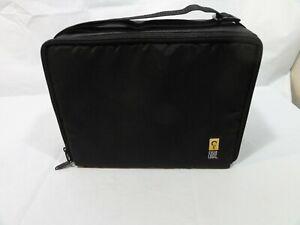 Case Logic Portable Black 30 Cassette Tape Storage Case Caddy Holder Carrier