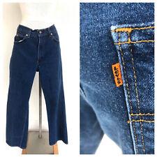 Vintage VTG 70s Levi's Orange Tab Dark Wash Straight Denim Jeans
