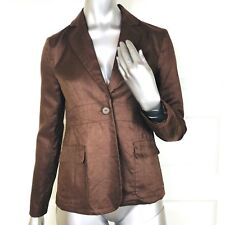 New MOTHERHOOD MATERNITY size Small JACKET Blazer 100% LINEN Career Casual S