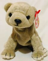 Ty Beanie Baby Almond The Bear Retired 1999 Plush Toy Tags
