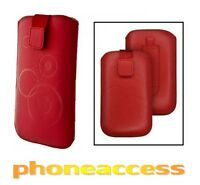 Housse / Etui Universel (Cuir) Taille M ~ Bouygues Telecom BS 351 // BS 401