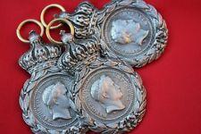 Lot de trois médailles Sainte Hélène (sans ruban)( reproduction)