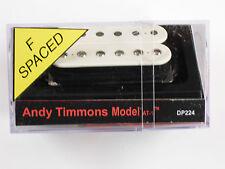 DiMarzio F-spaced Andy Timmons AT-1 Bridge Humbucker White W/Chrome Poles DP 224