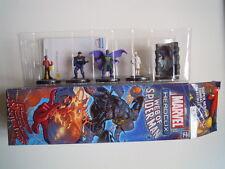 Marvel heroclix lotto 5 supereroi lot 5 figurine 4 5 7 11 34 web of spiderman