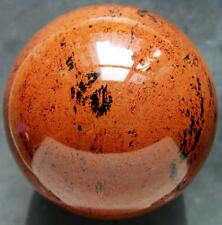Huge 112mm Natural Mahogany Obsidian Crystal Sphere Ball