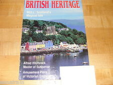 British Heritage Magazine June July 1991 Isle of Mull Alfred Hitchcock Piers