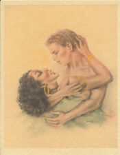Edouard Chimot Modern Reprint - Roses des sables #12 - Ready to frame