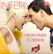 Infernal CD Single From Paris To Berlin - France (VG+/VG+)