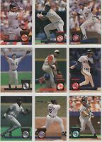 1994 Donruss Baseball Team Sets **Pick Your Team**