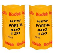 2 Rolls - KODAK PORTRA 400 ISO 120 C-41 Medium Format Color Negative Filmy DE
