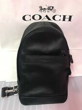 COACH MEN'S CHARLES PACK IN MIDNIGHT  SMOOTH LEATHER