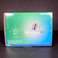 Microsoft Windows XP Home Edition 2002 Version Operating System CD Disc SEALED