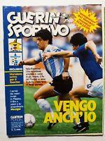 GUERIN SPORTIVO 24-1986 +FILM DEL MUNDIAL +INSERTO MEXIGOL MARADONA MEXICO 86