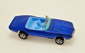 Redline Hot Wheels HK Custom Firebird Blue w/ BLUE Int. Deep Dish, Awesome! #1
