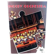 Rare Snoopy Orchestra Vintage 1986 Jigsaw Puzzle 2000 Piece Virca Italy
