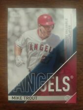 2017 TOPPS BASEBALL AWARD WINNER MIKE TROUT MOST VALUABLE PLAYER MVP-1 ANGELS