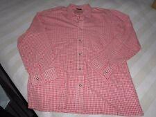 HAMMERSCHMID Trachtenhemd Baumwolle rot-weiß Gr. 39 s.Maße