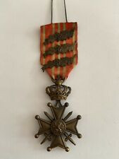 Croix De Guerre -3 Palmes /  War Cross  Belgium