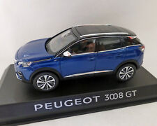 Peugeot 3008 GT 2016, blau-Metallic, 1:43 NOREV