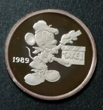Hollywood Mickey 1 oz. Fine Silver Coin Mickey Mouse Director Rarities Mint