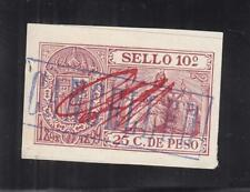 Philippines: 10 Sello Provisional Documentary Tax Stamp, Barefoot #4 (27555)
