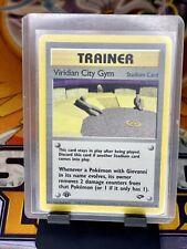 Pokemon 1st Ed. Gym Challenge Set UN-COMMON Viridian City Gym 123/132 - NM