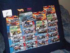 Hot Wheels NASCAR lot ONE duplicate Lot 8