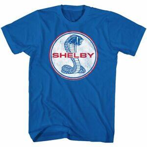 Shelby T-Shirt Vintage Logo Royal Tee