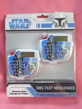 Star Wars Clone Wars SMS Text Messenger - 2008 Sakar - New