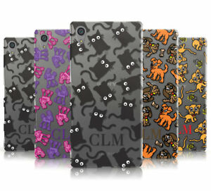 PERSONALISED DOGS & CATS INITIALS MOBILE PHONE CASE COVER FOR SONY XPERIA L1