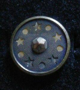 Antique Ornate Metal Button.