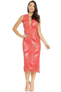 MANNING CARTELL Gallery Views Dress - Geranium size 10 $699