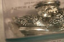 Place card holders silver plated ducks Merchants of the Globe - set of 6 (set B)