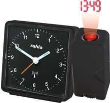 Garde Ruhla Funkwecker mit Projektion - schwarz - RC-Clock 505-1