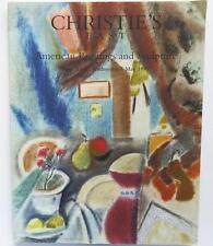 Christie's Auction Catalog Erik-8247: American Art/Sculpture May 1999 New York