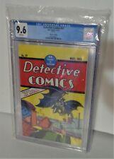 CGC 9.6 Detective Comics #27 Loot Crate 12/18 First Batman May 1939  Reprint