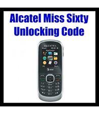Entsperren Unlock Code Für Alcatel Miss Sixty Telefon sofort in Minuten 100% sicher